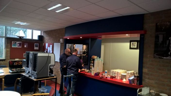 Van Lodenstein College, VLC, kerk, geloof, Barneveld, Ede, Amersfoort, Hoevelaken, Kesteren, koffie, automaat, automaten, plaatsing, Groothandel Van Dijk, Zo-Vital, Hoornbeeck, College,